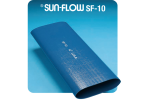 Sun-Flow - Model Code: SF-10 - P.V.C. Blue Water Discharge Hose