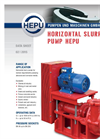 HEPU - Horizontal Slurry Pump Datasheet