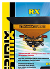 Model RX- RX/F - Single Disk Fertilizer Spreaders with Lowered Hopper Brochure