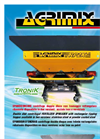 Model RP 2X - Double Disk Fertilizer Spreaders with Lowered Hopper Brochure
