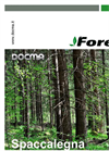 Forest - Model SF80 - Log Splitter Brochure