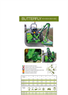 Butterfly - Model 170, 250, 300, 350 - Hydraulic Flail-Hedger Mower Brochure