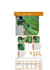 TSL Garden - Model 100 ,120, 150 - Central and Off Set Mowers Brochure