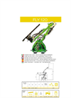 Model Fly 120 - Hedge Bush Cutter Brochure