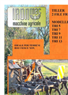 IRONMEC - Model TRI 5, 7 ,9 ,11,13 - Hydropneumatic Tiller Brochure