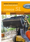 Condor - Model SL - Side Discharge Cement Mixer Bucket Brochure