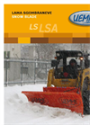 Model LS/LSA - Self-levelling Snow Blade Brochure