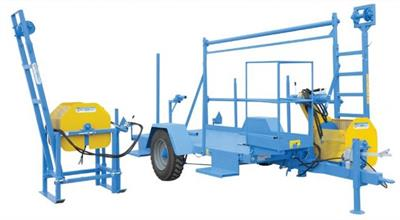 Giovanni - Model RTCO-VAI - Plastic-Film Stretching Machine with Winch