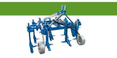 Model CRM - Variable Hydraulic Tiller with Fixed Shanks
