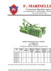 Model SPEADY SERIES - Trailed- Mounted Disc Harrow Brochure