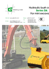 Model DA series - Heavy Bush Cutter Brochure