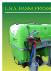 Petta GP - Model LSA Series - Low Pressure Mounted Weed Sprayers - Brochure