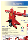 Model Series STV.300 30 ton - Vertical Oleodynamic Wood Splitter Brochure
