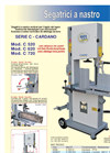 Driveshaft - Model Series C - Vertical Band Saw Brochure
