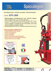 Model STV.300 - Hydraulic Wood Splitter Brochure