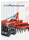 Preparater - Model PTR - Sowing Tillers Seed Bed Cultivators with 5 Rows- Brochure