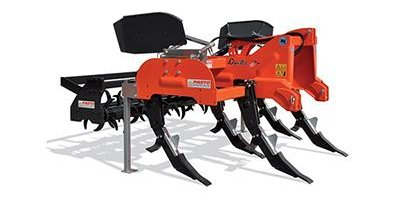 Rapter Subsoiler with Double Toothed Roller