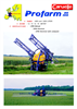 Profarm - Model 80/100 - Mounted Hydraulic Boom