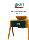 Model API 2 - Roller Flaking Mill Brochure
