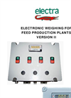 Model VERSION II - Electronic Weighing for Feed Production Plants Brochure