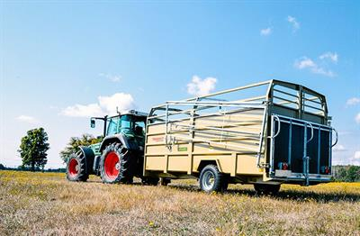 Trimax - Model P - Livestock Trailer