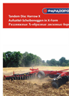 PAPADOPOULOS - Model DMXS Series - Disc Harrow - Brochure