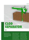 Model KS - Clod Separators Brochure