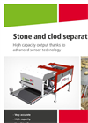 Clod- and Stone Separators Brochure