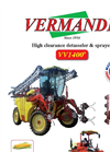 Model VV1400 - High Clearence Tractor Brochure
