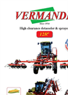 Model 12 R - High Clearence Tractor Brochure