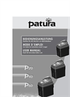 Patura - Model P 20 - 9 Volt Battery Energisers - Brochure