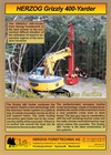HERZOG Grizzly - Model 400 - Yarder Combines Brochure