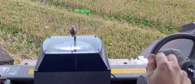 Hawk Sight - Heads Up Display System for Precision Farming Machines