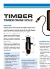 Timber Crane scale Technical Specifications
