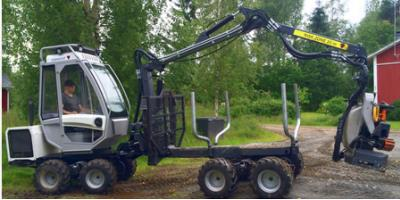 Combi Master - Forwarder with Harvester Head