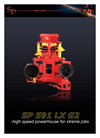 SP Maskiner - Model SP 591 LX G3 - High Speed Harvester Head Brochure