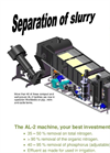 AL-2 Separation of Slurry Brochure