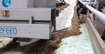 The Feed pusher ensures height feed efficiency and a minimum of waste.