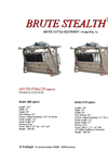 Brute - Stealth Spec Sheet