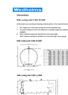 DF95L - Milk Cooling Tanks - Dimensions
