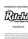Omni - Model 1 #18359 - Automatic Waterer Brochure