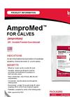 AMPROMED - Model CALVES - Soluble Powder/Coccidiostat Brochure
