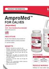 AMPROMED - Model CALVES - Liquids Amprolium Brochure