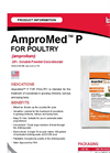 AMPROMED - Model P - Soluble Powder / Coccidiostat Brochure