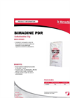 Model PDR - Anti-Microbial Bimadine Brochure