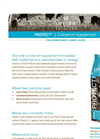 Protect - Colostrum Supplement - Brochure