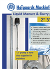 Model HM - Liquid Manure and Slurry Pumps Brochure