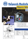 Model HM-K - Slurry Mixer Brochure