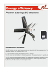Power Saving EC Motors Brochure