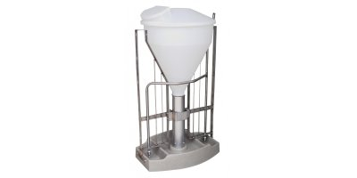 Ergomat - Model XL - Stainless Steel Feed Dispenser